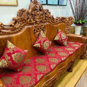 Đệm ghế gỗ bông ép